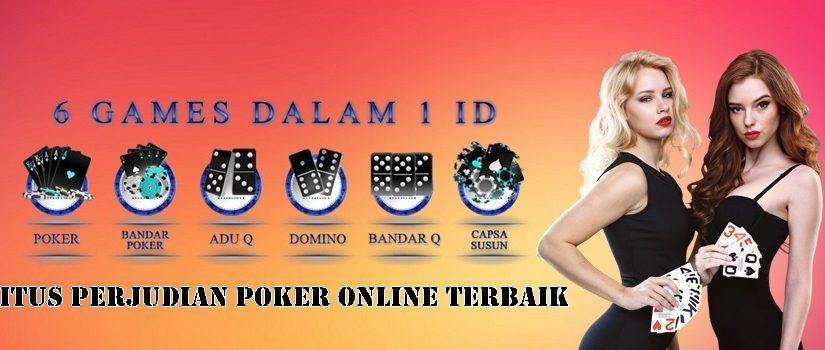 Situs Perjudian Poker Online Terbaik